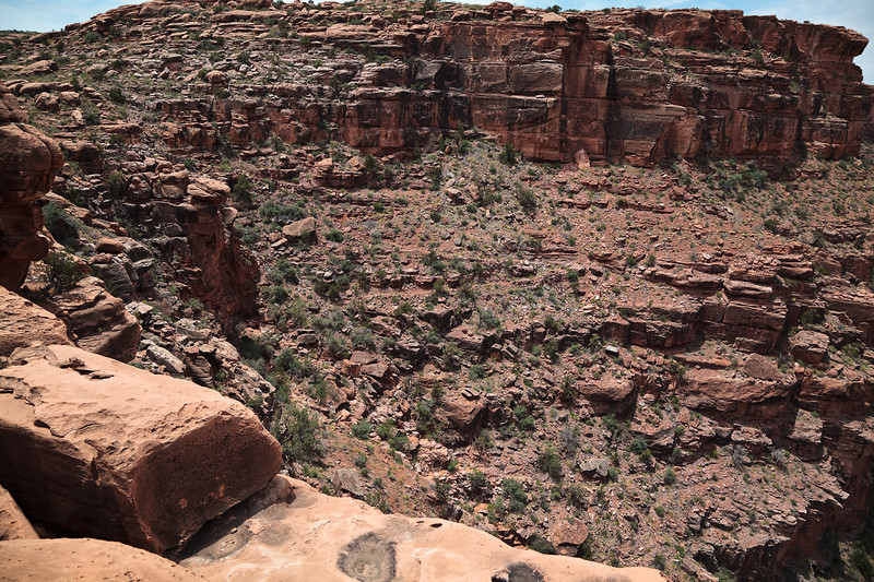Discovery! Can you see the switchback trail on the opposite canyon wall?