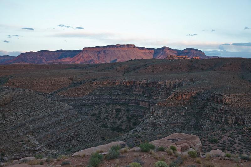 Last Light at Hidden Canyon