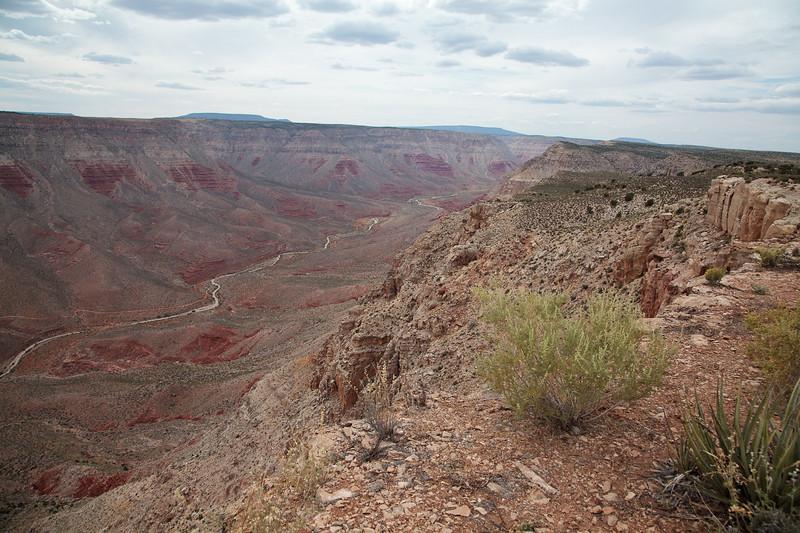 Looking back up toward Trail Canyon.