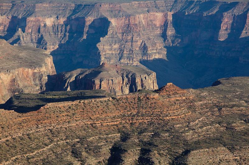 Deep into the Grand Canyon