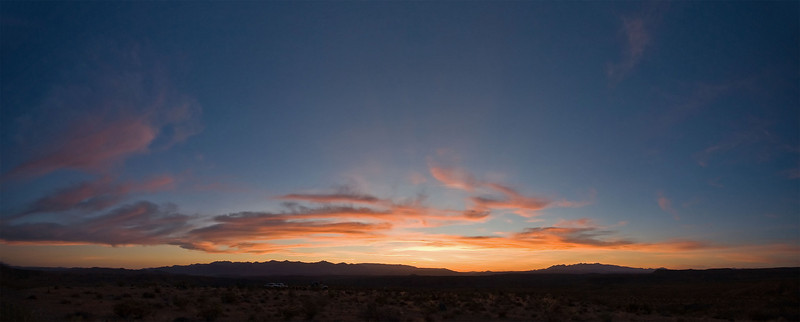 Sunset Panorama<br /> <br /> Three frames @ 10mm focal length