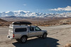 My truck and its first view of the Sierra Nevada mountains<br /> <br /> Last photo of the trip, time for the long ride home
