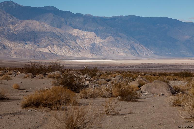Saline Valley salt pan