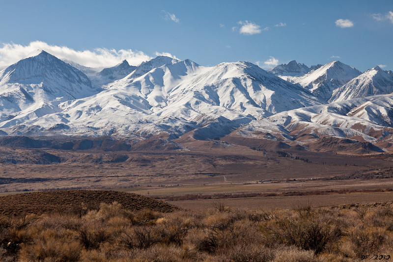 Mt Sill is the distant peak on the right, at 14,195 ft.