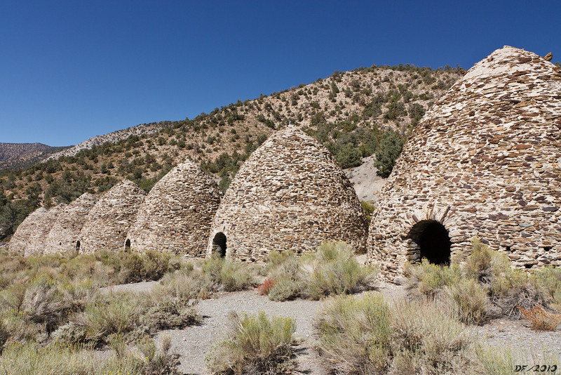 The Charcoal Kilns on the way back out to Panamint Valley
