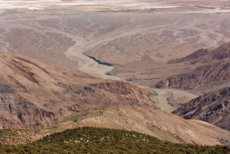 Another view down Hanupah Canyon<br /> <br /> A very, very long way down...