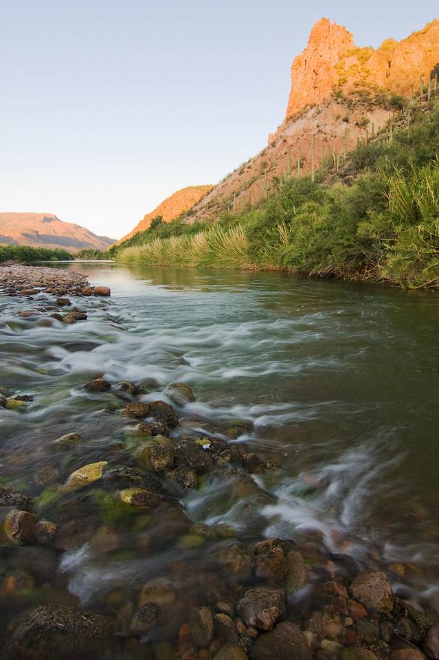 Salt River Near Redmond Flats
