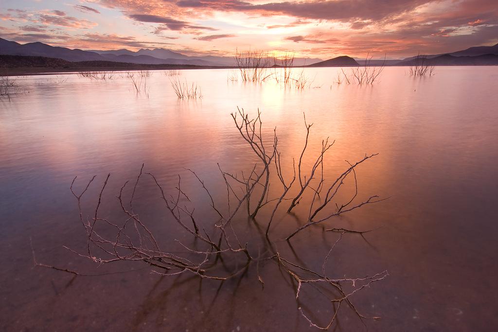 Sunset 3, Roosevelt Lake from Cottonwood Cove