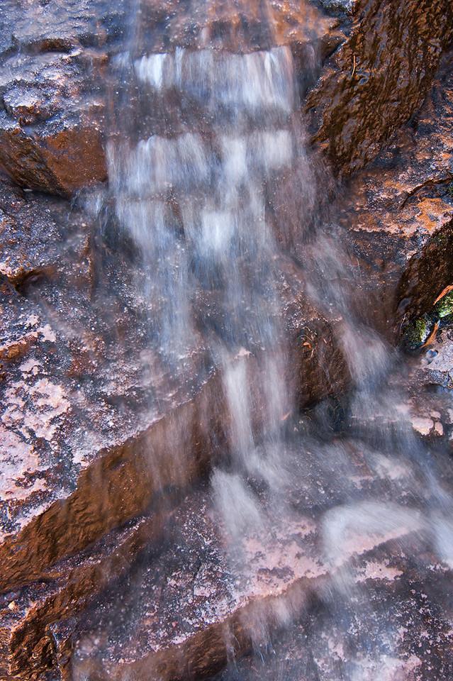 Waterfall Detail, Peralta Canyon
