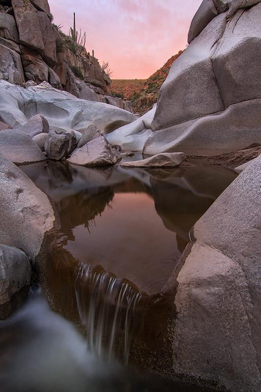 Sunset, Sycamore Creek