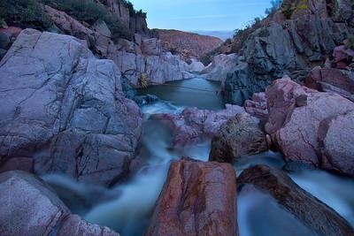 Park Creek Above Falls, Four Peaks Wilderness, Mazatzal Mountains