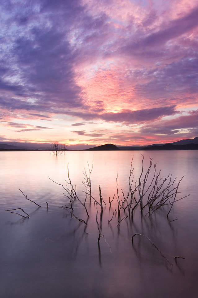 Sunset 2, Roosevelt Lake from Cottonwood Cove