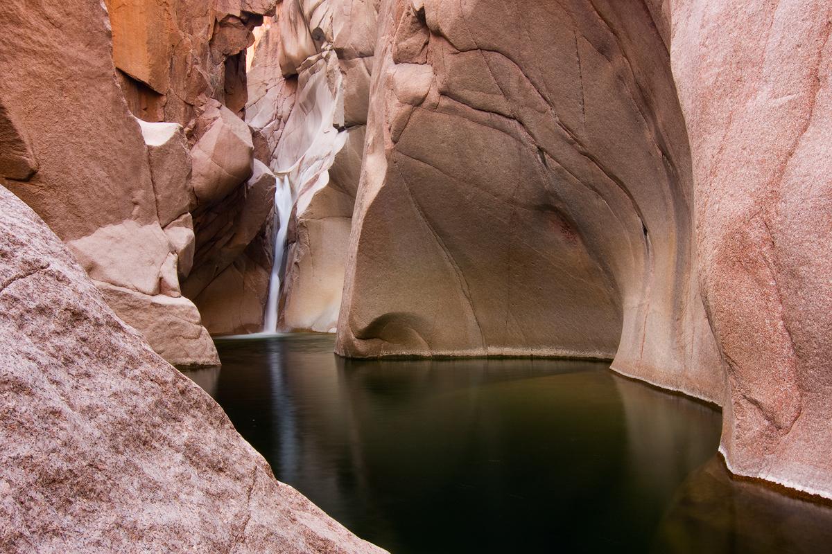 Salome Jug Waterfall, Horizontal