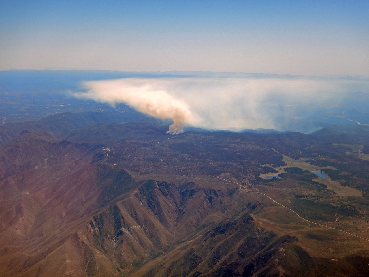 fire from 38,000 ft