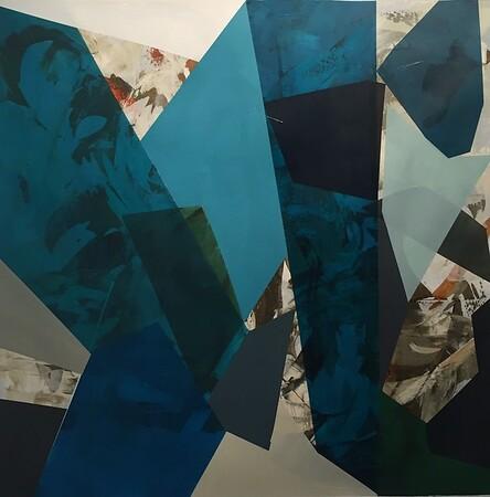 Arrowroot I-Stockstill, 53x53 on canvas