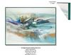 Twilioght Pastel-Douglas, 61x48x3 painting with mixed media on wood, HS15-728-DOUG