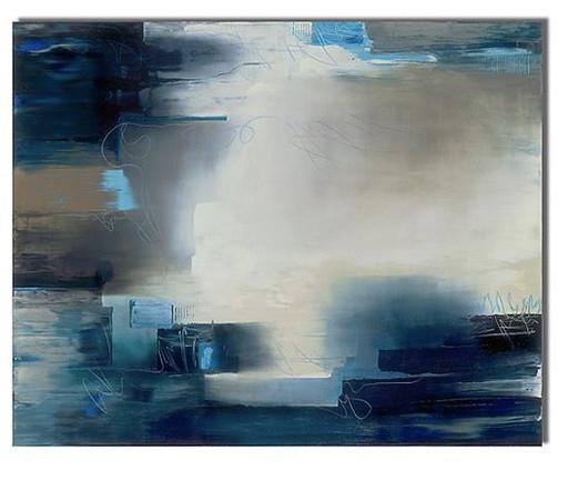 Monolith-Dominick, 60x48x2.5 painting on wood,HF14-710-DOMI