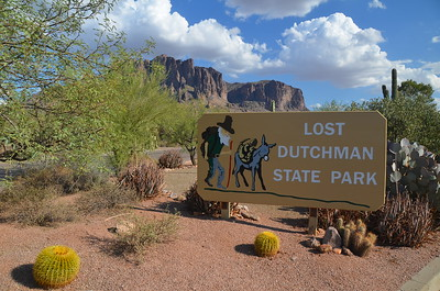 2011 Lost Dutchman State Park Superstition Mountains September 16, 2011