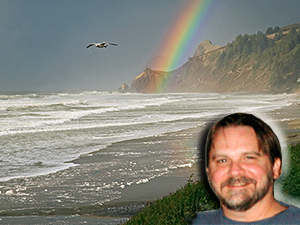 Rainbow at the Beach at Lands End, Lincoln City, Oregon (Zoom) (D70_2006-01-02DSC_2779-LandsEndRainbowCloseupSeagullFlying-nice-5.jpg)