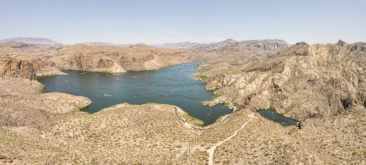 Canyon Lake Panoramic, Arizona