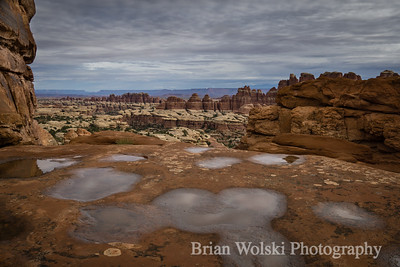 Potholes in Canyonlands National Park