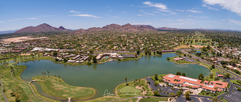 McCormick Lake and Golf Course, Scottsdale, Arizona, US