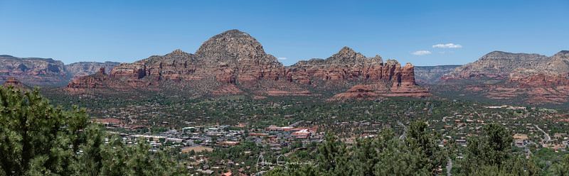 Sedona Panoramic from the airport
