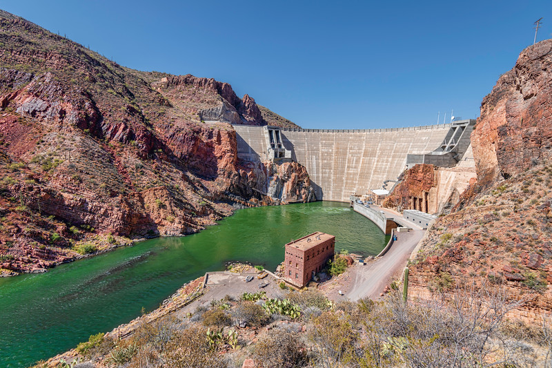 Roosevelt Dam, Arizona