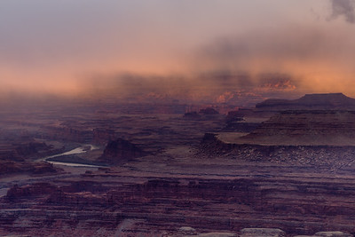 Sunrise Over Moab, Utah