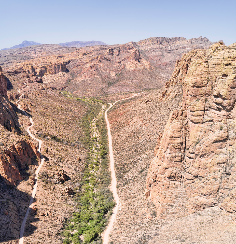 Apache Trail, Arizona.