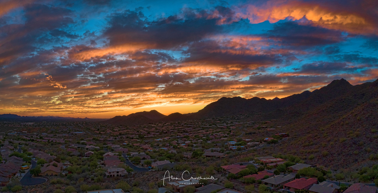 Scottsdale sunset.