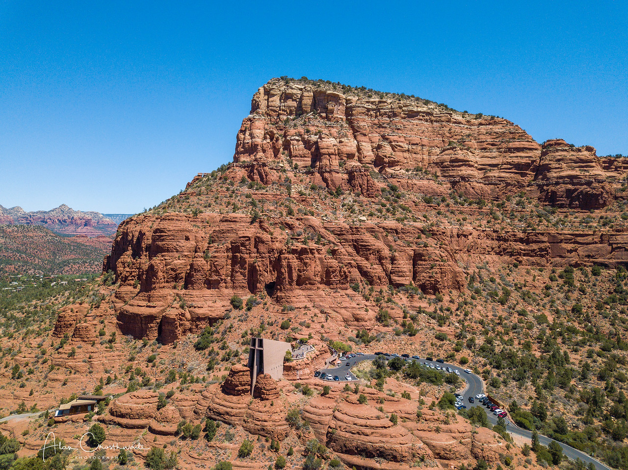 Chapel of the Holy Cross, Sedona, Arizona.