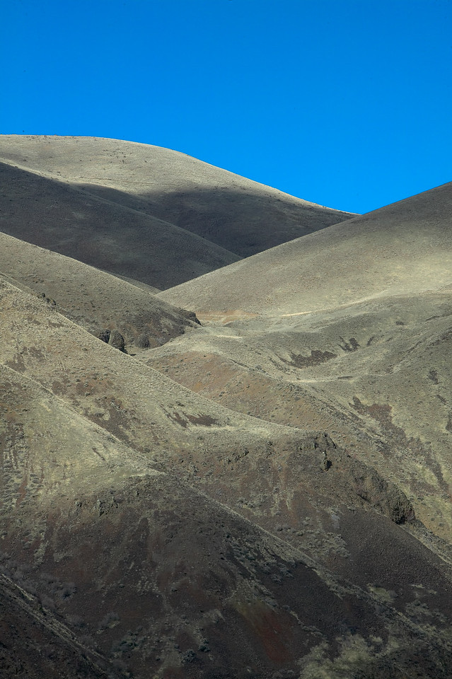 Rolling Hills in Yakima Canyon