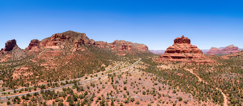 The road to Sedona.