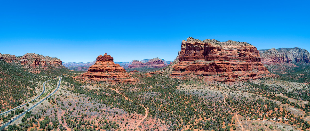 Sedona, Arizona panoramic