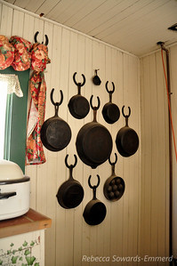 I need to put horseshoes in my kitchen for all of my cast iron.