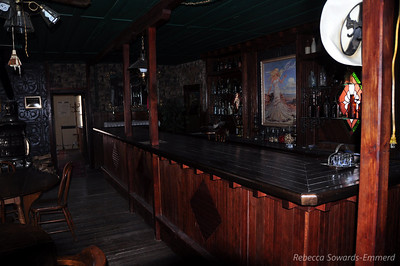 The bar. Sweet. Can't you just hear the wild west bar brawl?