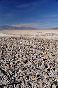We made a quick stop at the Badwater pullout before heading on to Sidewinder Canyon