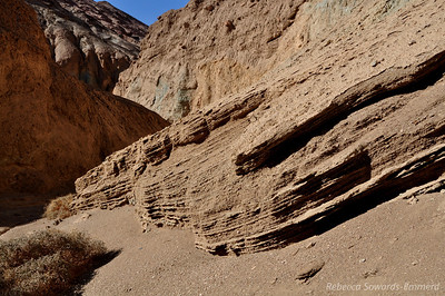 Erosion patterns in Desolation Canyon