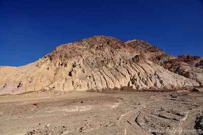 Eroded hillsides
