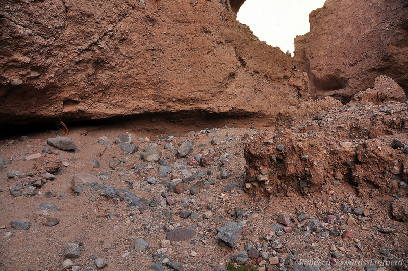 The fun part of Sidewinder are all of the side canyons to explore.