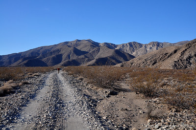 Road to Minietta Mine. We likely could have driven up there, but didn't want to push it with our trailblazer's sketchy condition. This stretch was just fine though.