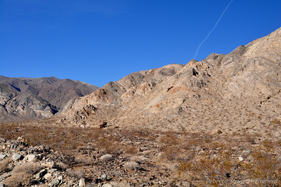 First view of the Minietta ruins
