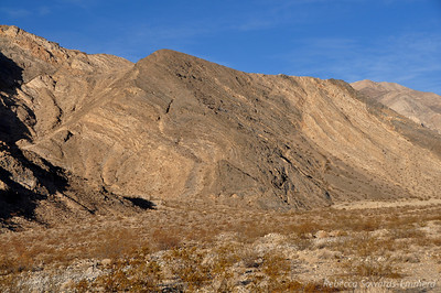 I love the patterns in the hillsides here.