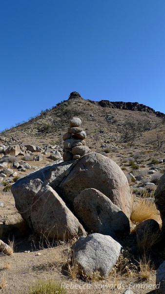 Nice cairn to mark the way