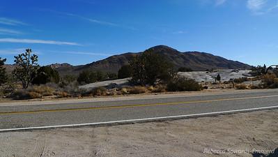 Kessler Peak from the road