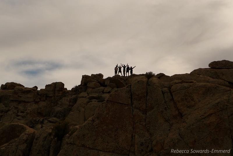 On the summit!