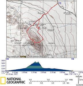 Teutonia Peak Track