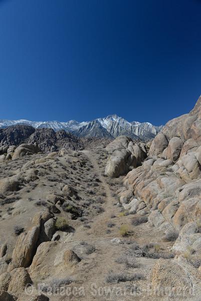 Lone Pine Peak ahead