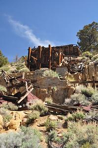 Masonic Mill ruins
